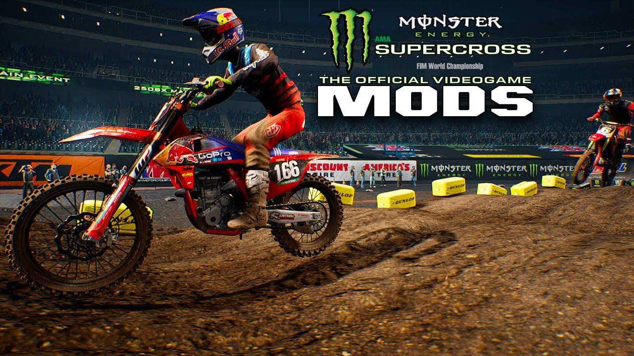 graphic gear mods for monster energy supercross the game. Black Bedroom Furniture Sets. Home Design Ideas
