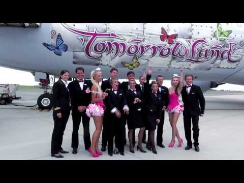 Brussels Airlines Tomorrowland party flights