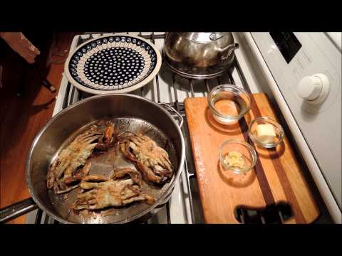 How To Cook Soft Shell Crabs - Sauteed - Episode 53