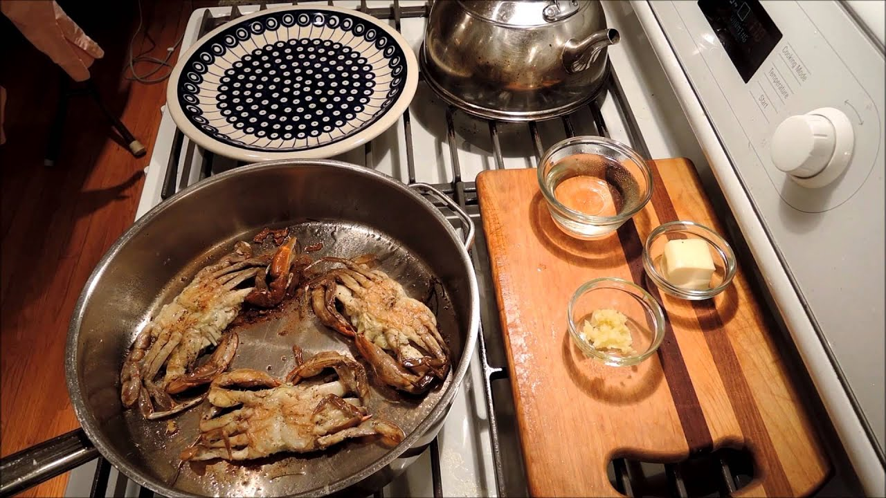 How to Cook Soft Shell Crabs - Sauteed - Episode 53 - YouTube