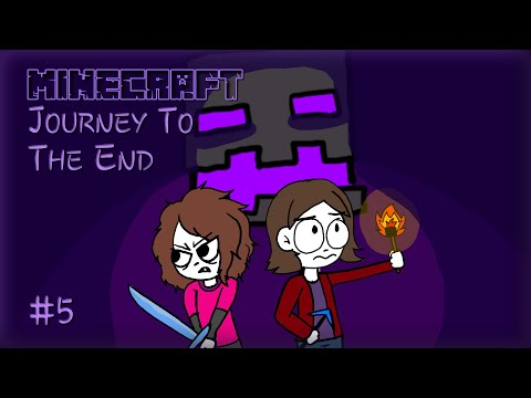 Minecraft Journey To The End #5 - PREPARING FOR THE NETHER!