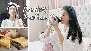 ENG) 자기관리 끝판왕 유나의 모닝루틴 (ft.다이어트 계란말이) Morning Routine   뷰티클라우드 유나 UNA