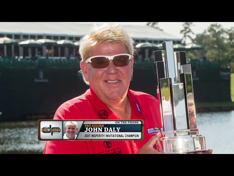 John Daly on His Champions Tour Win, If He Has More Natural Talent Than Tiger, and More (5/8/17)