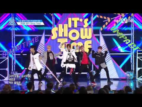 [Produce 101] It's Showtime Stage Performance with Official Audio (No Screaming)