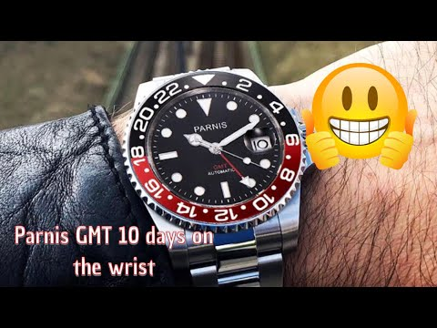 Parnis Gmt Automatic Watch Review 10-days On The Wrist