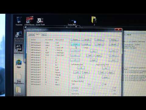 как играть в игры Play Station 2 с диска на пк, и также как настроить клавиатуру чтобы играть