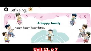 U11 Song A happy family p 7