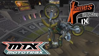 MTX Mototrax - Travis Pastrana X Games Freestyle!