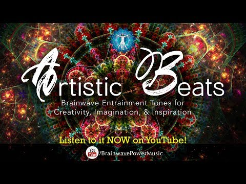 "Enhance Your Creativity: ""Artistic Beats"" - Brainwave Entrainment for Unlocking Your Imagination"