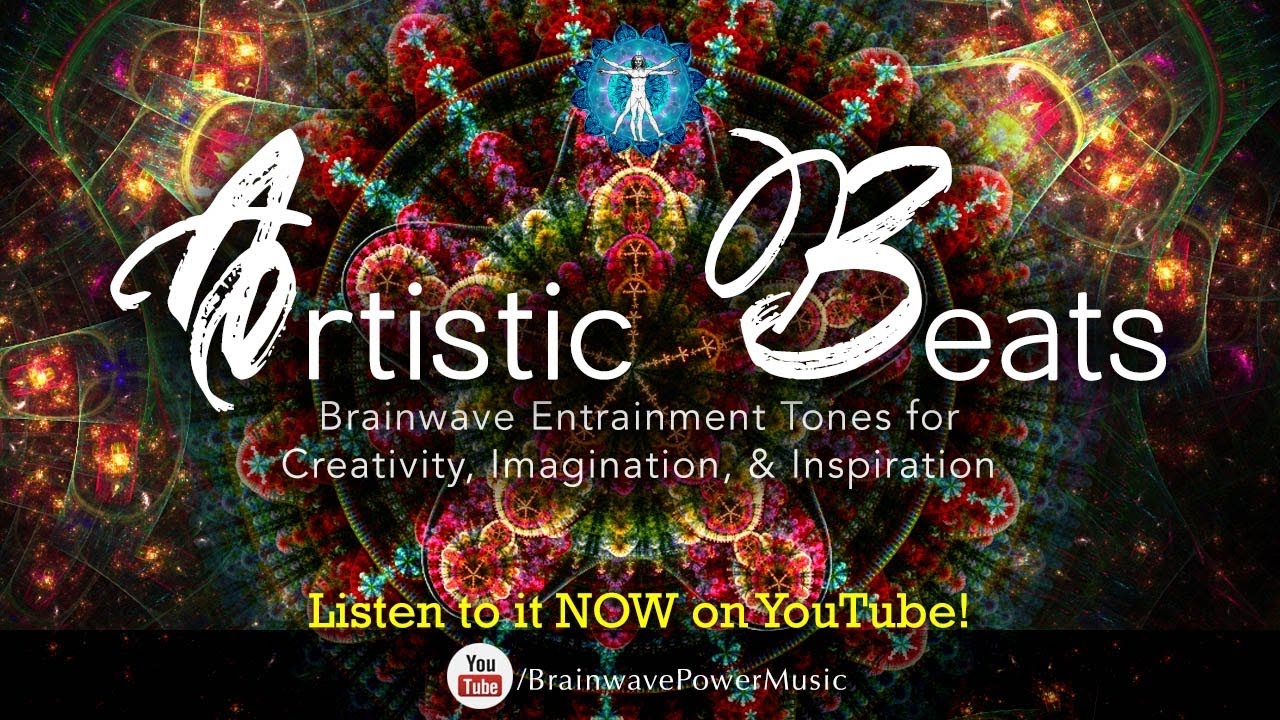 And to start your imagination and boost some inspiration in you we - Enhance Your Creativity Artistic Beats Brainwave Entrainment For Unlocking Your Imagination