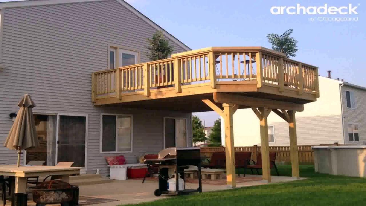 Screened Porch Under Deck Ideas - YouTube on Under Deck Patio Ideas id=19554