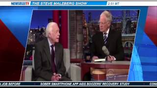 Newsmax: Give Me Five: Malzberg Rips Carter and Letterman on Global Warming