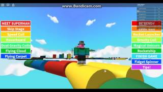 So called Escape Fidget Spinner Obby! in ROBLOX
