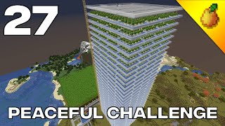 Peaceful Challenge #27: Massive Cactus Farm And Server Tour With TabTwice