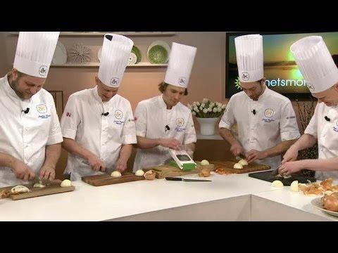 Sex kockar gor upp om arets kock