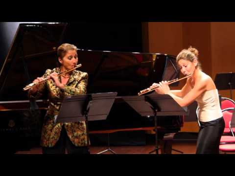 Larrieu Flute Competition Nice 2015 Gala Concert - Sibel, Silvia & Laetitia