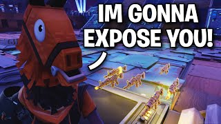 """I Will EXPOSE you watch ME!"" 🤣 (Scammer Get Scammed) Fortnite Save The World"