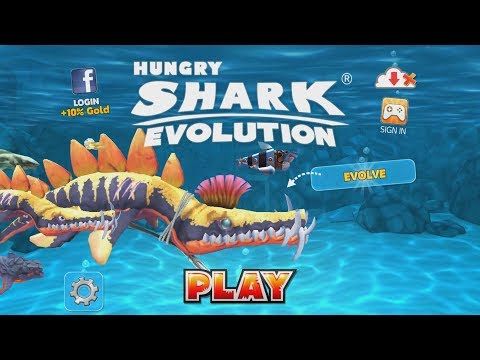 Hungry Shark Evolution Leo  🐊 (Liopleurodon) Android Gameplay #3