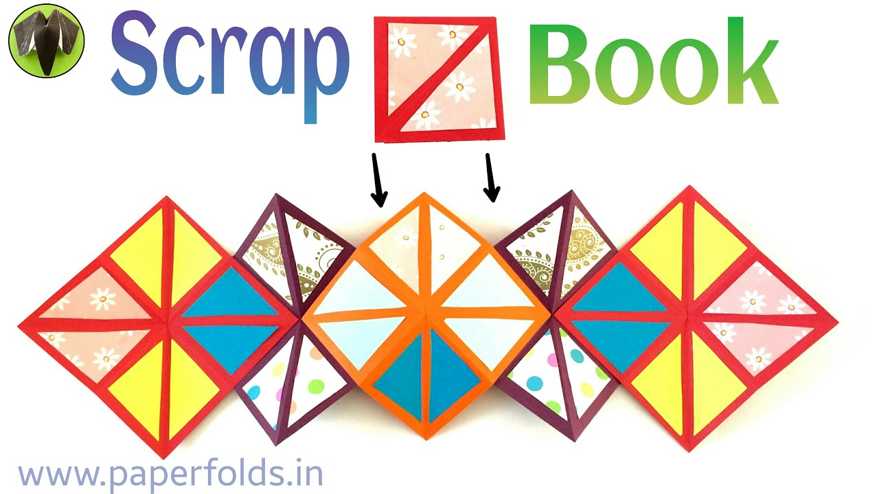 Origami craft tutorial to make an easy paper squash scrap book origami craft tutorial to make an easy paper squash scrap book greetings card youtube jeuxipadfo Image collections