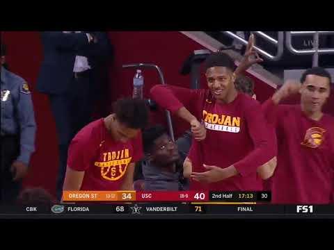 Men's Basketball: USC 70, Oregon State 59 - Highlights 2/17/18
