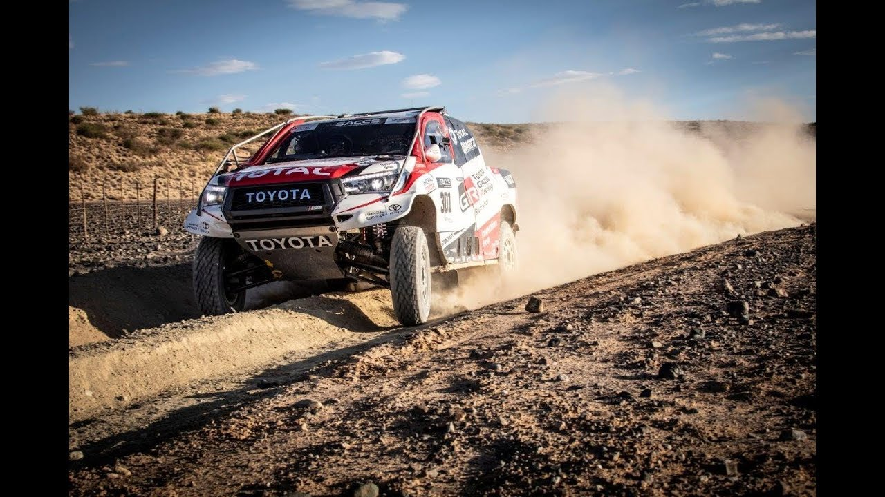 Toyota Hilux Evo Mid Engine V8 Truck Revealed 2017 Dakar Rally