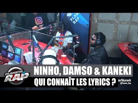 Youtube: Ninho – Qui connaît les lyrics? avec Damso et Kaneki #PlanèteRap