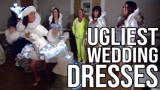 The Ugliest Wedding Dresses Ever On Tv