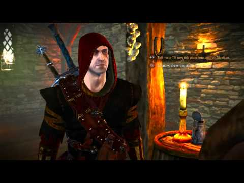 54. Let's Play The Witcher 2: Assassins of Kings - Poker Face: Flotsam