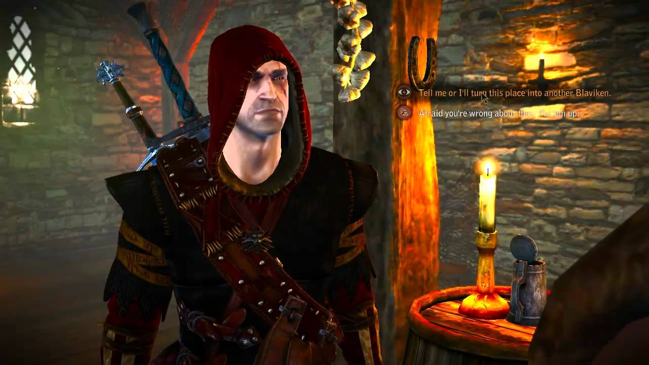 Witcher 2 poker face haggard