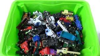 Box Full of cars Truck for boys video for kids