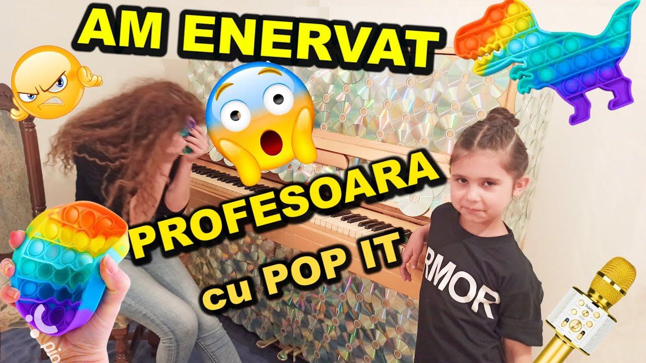 Jocul POP IT m-a calmat la lecția de canto🙄 Pregatesc o nouă melodie pentru copii🎤 Ciao Patricia
