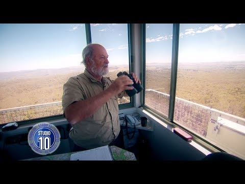 Aussie Hero Manning One Of Australia's Fire Lookout Towers | Studio 10