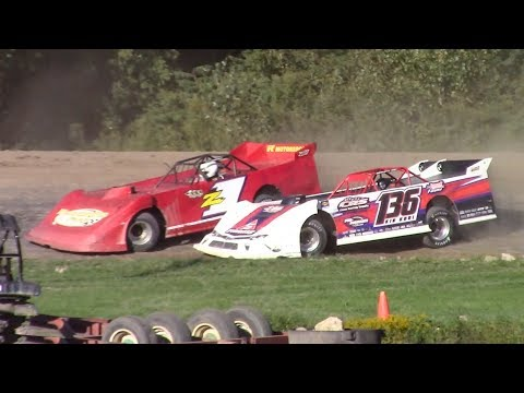 Topless RUSH Crate Late Model Heat Four | Genesee Speedway | 9-16-18