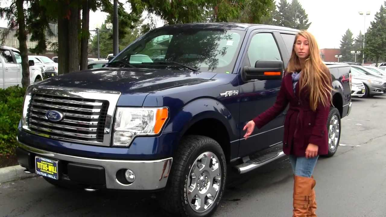 virtual walk around tour of a 2010 ford f 150 xlt xtr at titus will ford in tacoma wa x7418. Black Bedroom Furniture Sets. Home Design Ideas