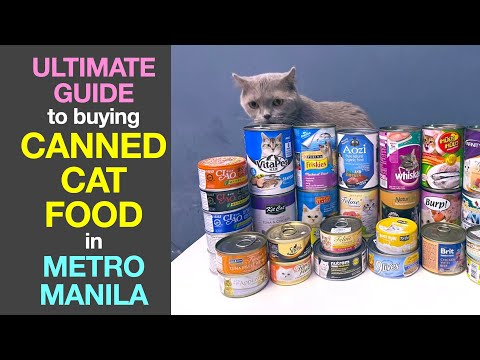 Ultimate Guide to buying CANNED CAT FOOD in Metro Manila