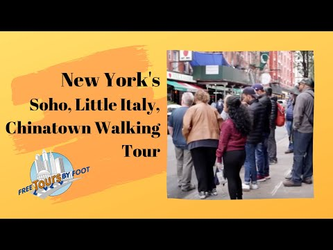 SoHo Little Italy and Chinatown Tour
