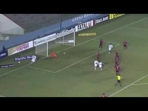 Gols:Oeste 1x1 Londrina 14/06/16(Brasileirao Serie b)