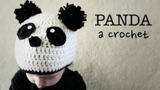 Gorro de OSO PANDA a Crochet - tutorial paso a paso