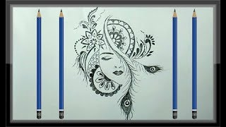 cool easy drawing drawings pencil paintingvalley