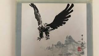 Rare Xu Beihong Traditional Chinese Ink Brush Paintings Private Collection