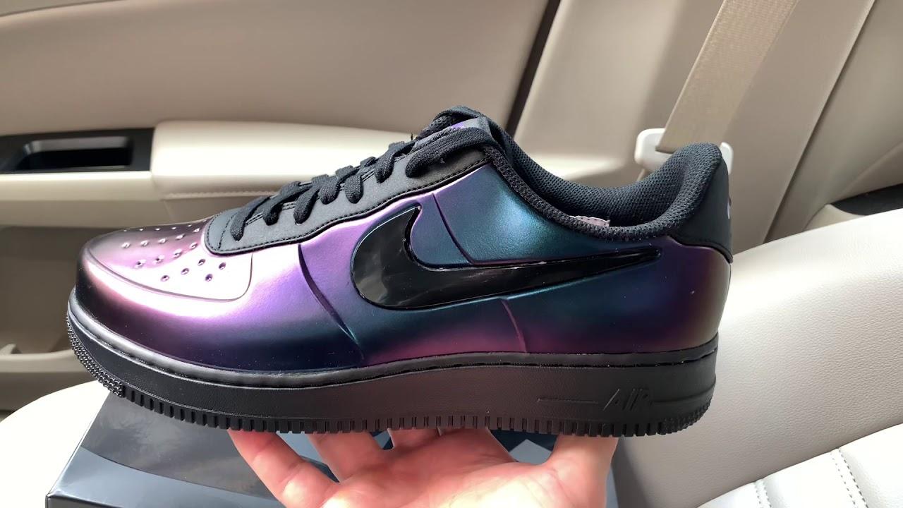 Air Force 1 Foamposite Pro Cup Court Purple shoes
