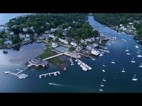 Annisquam, Gloucester, Massachusetts in 4k - Mavic Air Drone