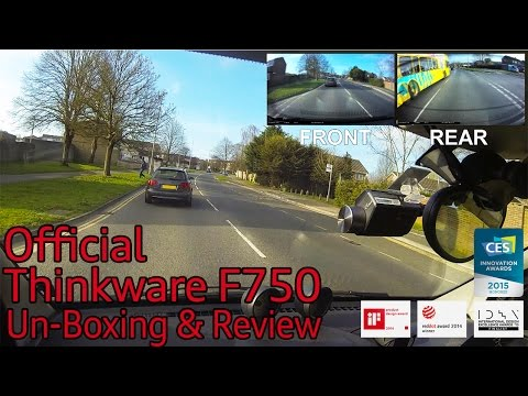 Thinkware F750 DashCam UnBoxing & Review