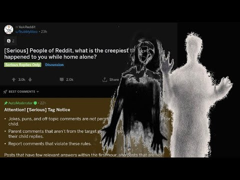 r/AskReddit [Serious] What's the creepiest thing that