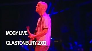 Moby Find My Baby Live At Glastonbury