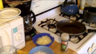 Tutorial- Cooking -hot German Potato Salad Authentic Traditional Recipe W Bacon And Vinegar