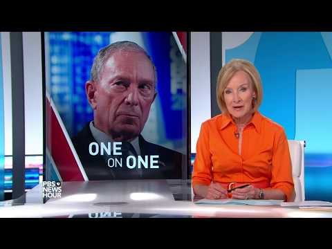 Threatening doesn't work in diplomacy, says Bloomberg of Trump at the UN
