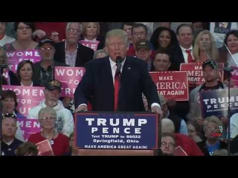 Full Speech: Donald Trump Rally in Springfield, OH 10/27/16
