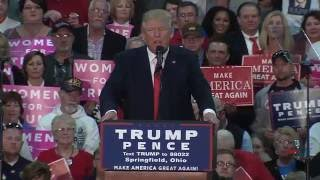 Full Speech: Donald Trump Rally in Springfield, OH 10/27/16