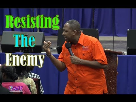 Resisting The Enemy  Apostle Andrew Scott